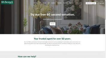 RA Bennett & Partners screenshot