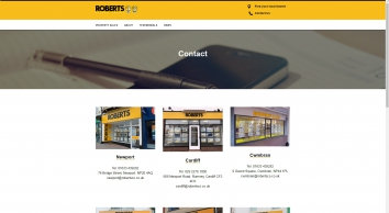 Roberts Estate Agents screenshot
