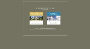 Sandown Properties Ltd screenshot