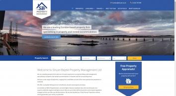 Struan Baptie Property Management screenshot