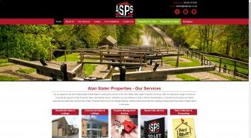 Alan Slater Property Services screenshot