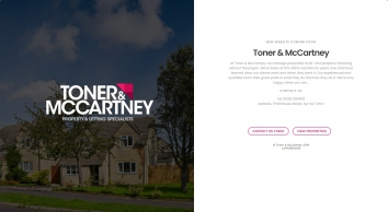 Toner & McCartney screenshot