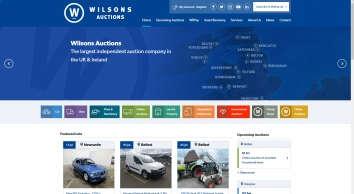 Wilsons Auctions screenshot